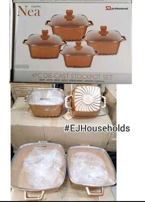 DIE CAST STOCKPOT 4PCS  SET. image 2