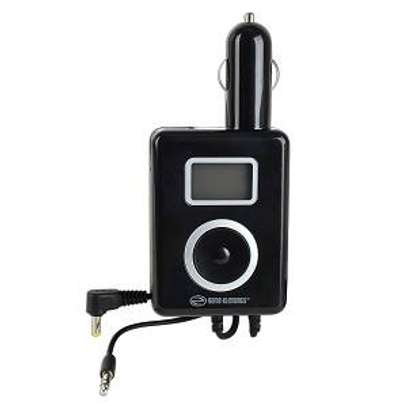 POWER TUNE- 2 IN 1: FM TRANSMITTER AND CAR CHARGER FOR SONY PSP image 1