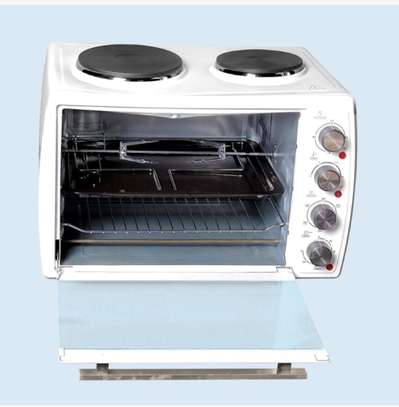 Westpoint 45L Electric Oven with Top Hotplates.WOY-4515.4