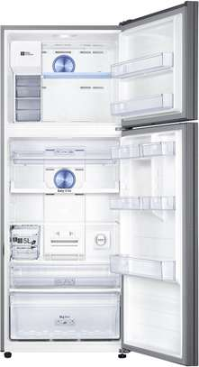 Samsung RT49 Refrigerator Double Door Fridge, 384L, Non Frost, LVS - Silver image 4