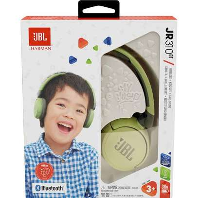 JBL JR 310 Bluetooth® Wireless Headphones for Kids, image 1