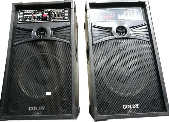 GOLDY 4143 Bluetooth Dual Speaker System image 1