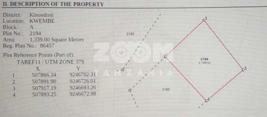Two Plots in Kwembe For sale image 2