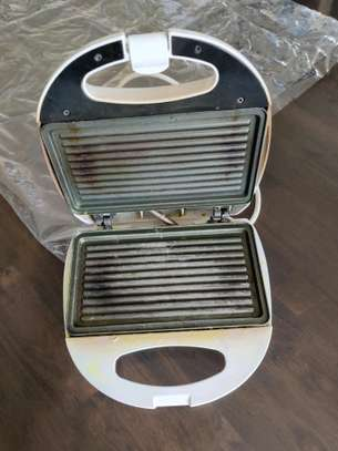 Electric grill toaster image 1