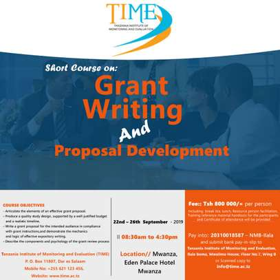 Grant Writing and Proposal Development