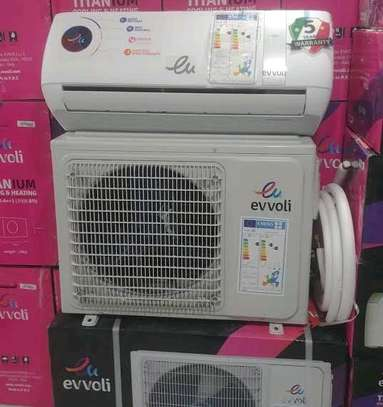 BRAND NEW EVVOLI AIR CONDITIONER WITH INSTALLATION...890,000/= image 1