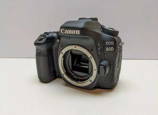 New Canon 80D With lens