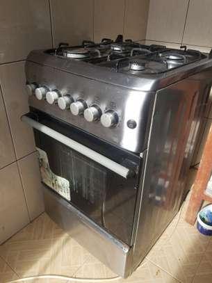 Oven & gas cooker (hotpoint) image 1