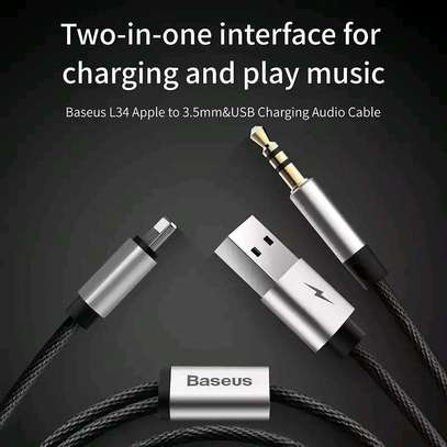 Baseus 2 In 1 Lighting /USB Cable . image 2