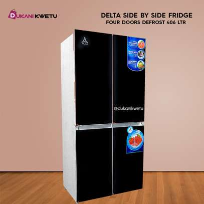 SIDE BY SIDE FOUR DOOR DELTA REFRIGERATOR - 406 LITRES