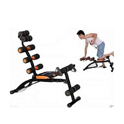 Home Gym Six Pack Exercise Bench image 3