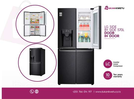 LG Slim French Door Fridge, with InstaView Door-In-Door Refrigerator