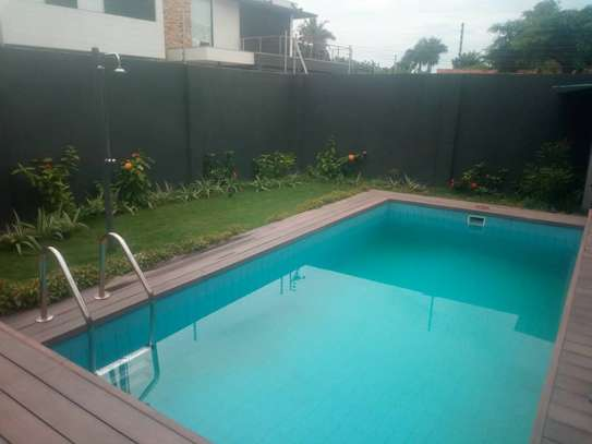 3bdrm fully furnished apartment with swimming pool at msasani image 4