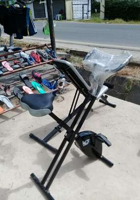 WER SPORTS EXERCISE BIKE FOLDABLE