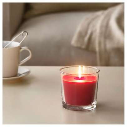 Scented Candles in a glass image 2