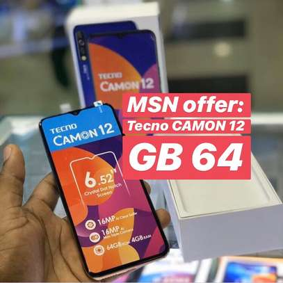 Tecno CAMON 12 GB64 Full box (OFA)