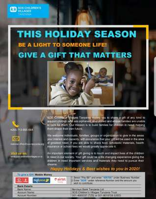 Give a Gift That Matters