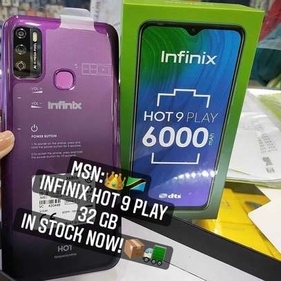 Infinix HOT 9 PLAY GB 32 PATA offer➖( Cover & Delivery BureE ) image 1