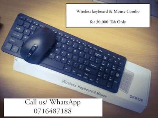 Wireless keyboard and mouse with numeric keypad image 8