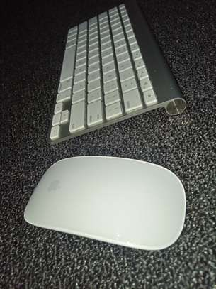 WIRELESS APPLE KEYBOARD AND MOUSE