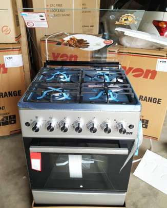 Von Hotpoint 4GAS BURNERS  OVEN ELECTRIC  60X60 image 1