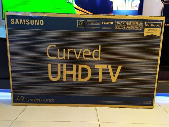 Samsung 49Inch Smart UHD 4K HDR Curved 2019 Series 7 image 2