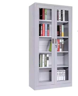 Office cabinet with fully glass image 1