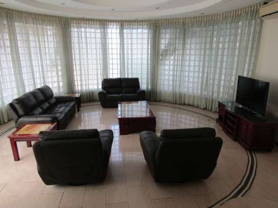 3 Bedrooms Luxury Full Furnished Apartments in Oyster Bay Peninsula image 2