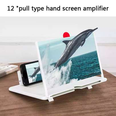 12 Inch 3D Screen Amplifier Portable Mobile Phone Magnifying Glass HD Stand Eyes Protection Holder For Video Folding Screen Enlarged image 1