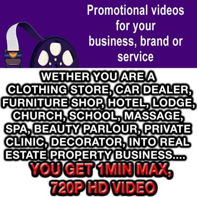 High Quality Promo Video for your Business image 1