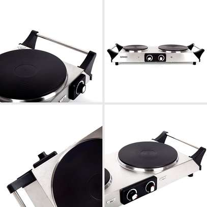 SPRING DEAL: Duronic Hot Plate HP2SS   Table-Top Cooking   2500W   Stainless-Steel Electric Single Hob with Handles image 4