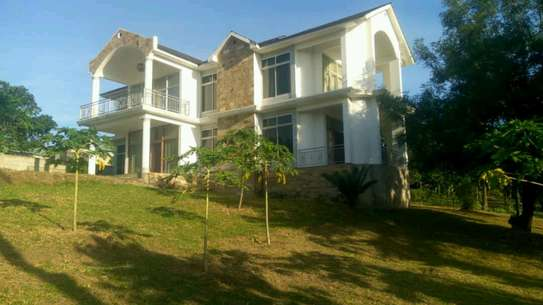 a stand alone house is for rent at mbezi beach tank bovu