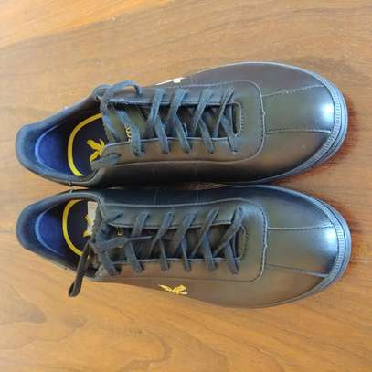 Lyle & Scott Cooper Leather Trainers 43