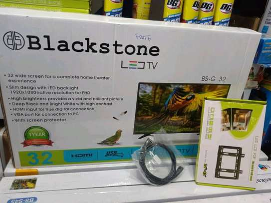 BLACKSTONE LED TV+HDMII CABLE+WALL MOUNT....330,000/= image 1
