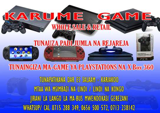 KARUME PLAYSTATION GAME REPAIR