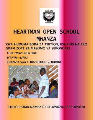 Heartman Open School Tuition Mwanza