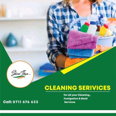 Cleaning, fumigation and maid services