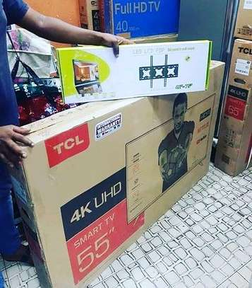 TCL 55 Inch  Smart 4K Android TV..1,550,000/= image 1