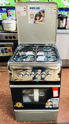BRUHM GAS COOKER FULL GAS 50 x 55 Gas Cooker image 1