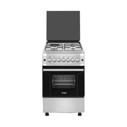 Von Hotpoint 2 Gas + 2 Electric/Stainless Steel With Inox – Silver F6S22E2.ESI