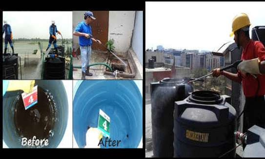 Water tank cleaner image 1