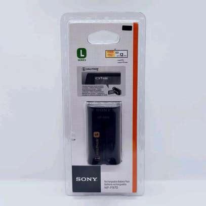Sony NP-F970 L-Series Info-Lithium Battery Pack (7.2V, 6600mAh) image 1