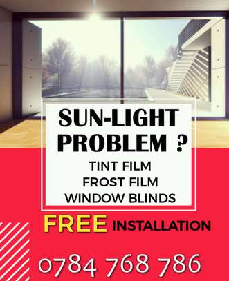 Tint Film- Avoid Sunlight  Problem
