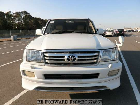 2002 Toyota Land Cruiser VX V8