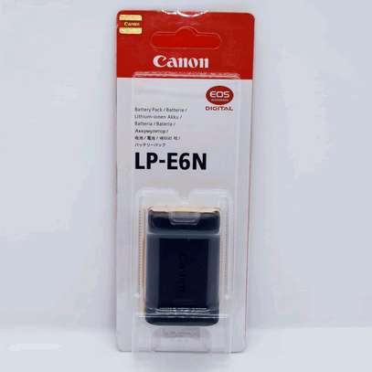 Original Canon LP-E6N Lithium-Ion Battery Pack (7.2V, 1865mAh) image 1