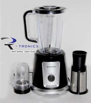 WESTPOINT FOOD-MILL BLENDER BLACK COLOR 1.5L image 1