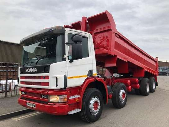 2004 Scania 114c 340 8x4 steel tipper day cabc 380 8x4 steel tipper day cab