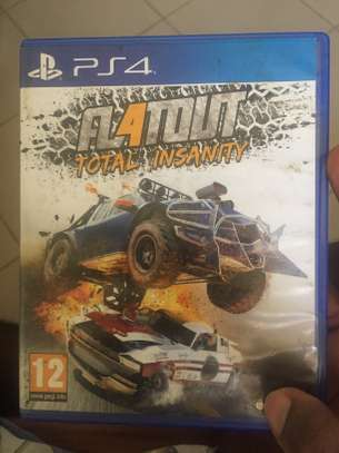 PS4 cd's -4used