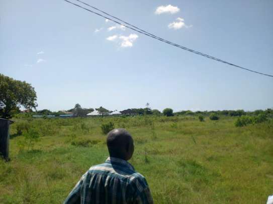 4 Acres industrial plot, all fenced in Mbweni image 1