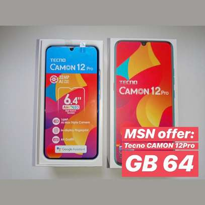 Tecno CAMON 12Pro GB64 Full box (OFA)